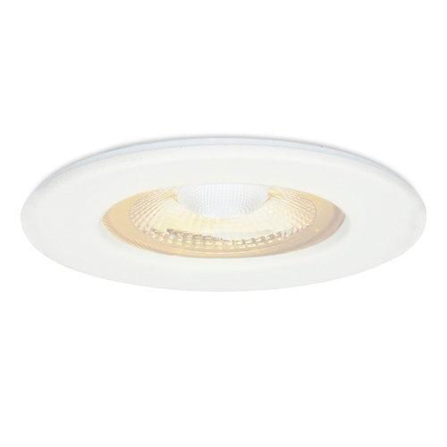 HOFTRONIC™ Nola LED recessed downlight white IP65 5W 2700K warm white dimmable 5 years warranty