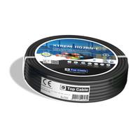 V-TAC Grondspot Rond Zwart 1 Watt 3000K IP67 12V - 2 Lichts