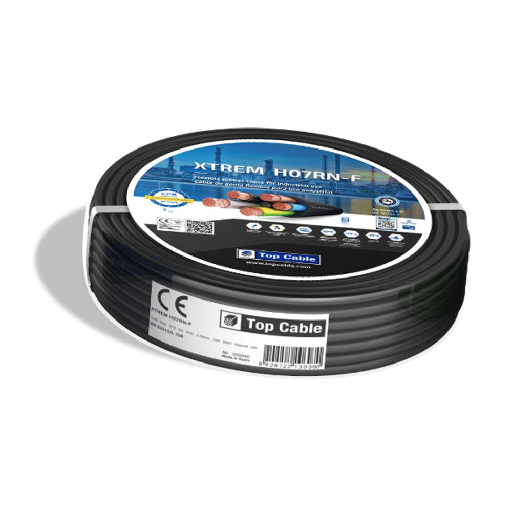 Installatiekabel Xtrem 3x1,5mm² geschikt voor binnen/buitengebruik en grondkabel Neopreen - 25 meter