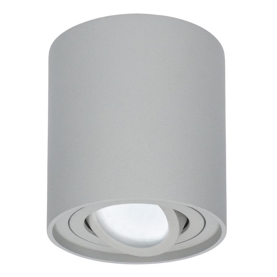 Dimbare LED Opbouwspot Ray Grijs 5W 6000K IP20 kantelbaar