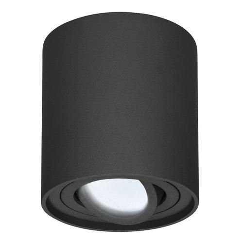 HOFTRONIC™ Dimmable LED ceiling spot black Ray 6000K IP20 tiltable