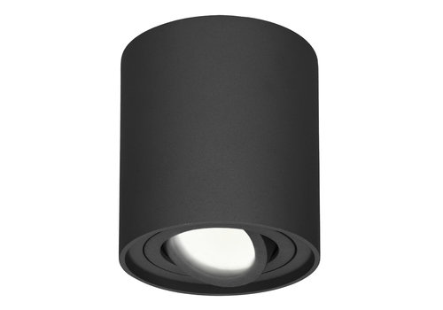 HOFTRONIC™ Dimmable LED ceiling spot black Ray 4000K IP20 tiltable