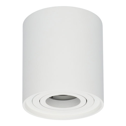 HOFTRONIC™ Dimmable LED surface mounted ceiling spotlight Ray White IP20 tiltable excl. light source