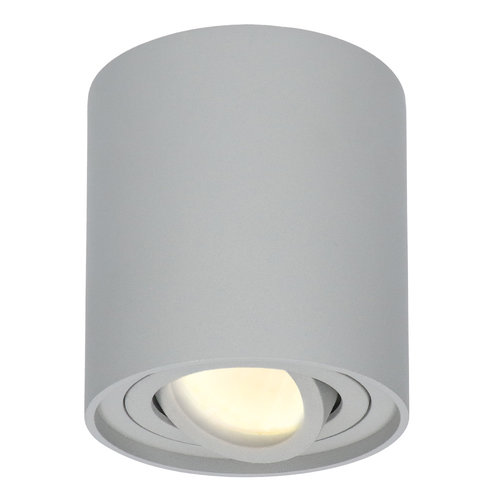 HOFTRONIC™ Dimmable LED surface mounted ceiling spotlight Ray 2700K incl. GU10 Grey IP20 tiltable