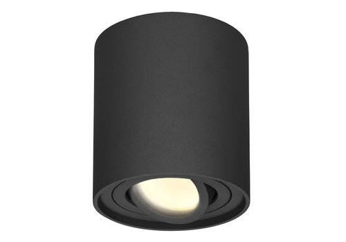 HOFTRONIC™ Dimmable LED surface mounted ceiling spotlight Ray 2700K incl. GU10 Black IP20 tiltable