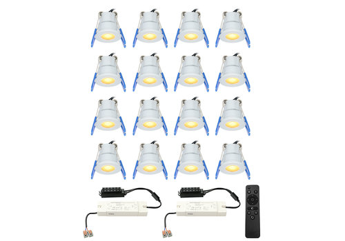 HOFTRONIC™ Complete set 16x3W dimmable Milano LED porch lights IP65