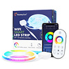 Homeylux Smart LED Strip Wifi RGBWW 5 meter IP65 incl. App & RF Remote Control