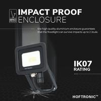 LED Breedstraler 10 Watt 4000K Osram IP65 vervangt 90 Watt 5 jaar garantie