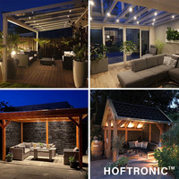 Complete set 12x3W dimmable Milano LED porch lights IP65 waterproof