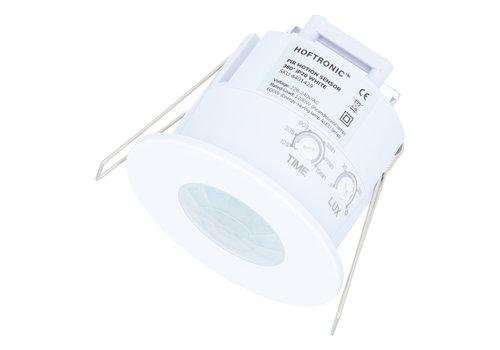 HOFTRONIC™ PIR bewegingssensor 360° bereik 6 meter Maximaal 300 Watt IP20 inbouw kleur wit