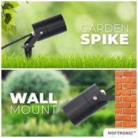 3x Spikey LED Gardenspike light 5 Watt 400lm 2700K black IP65 waterproof