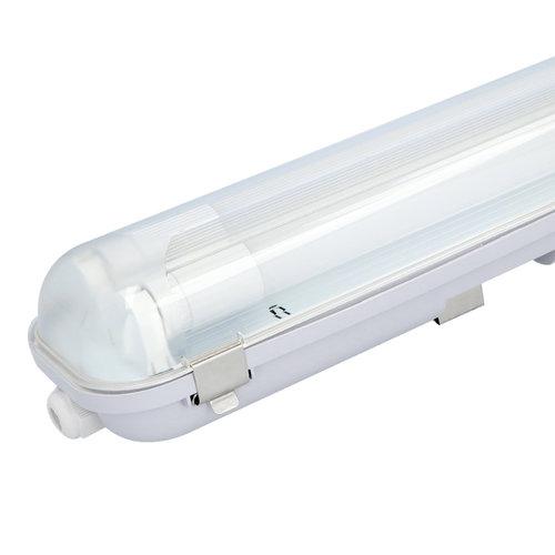 HOFTRONIC™ LED T8 TL armatuur IP65 120 cm 4000K 18W 3960lm 110lm/W incl. flikkervrije buizen koppelbaar