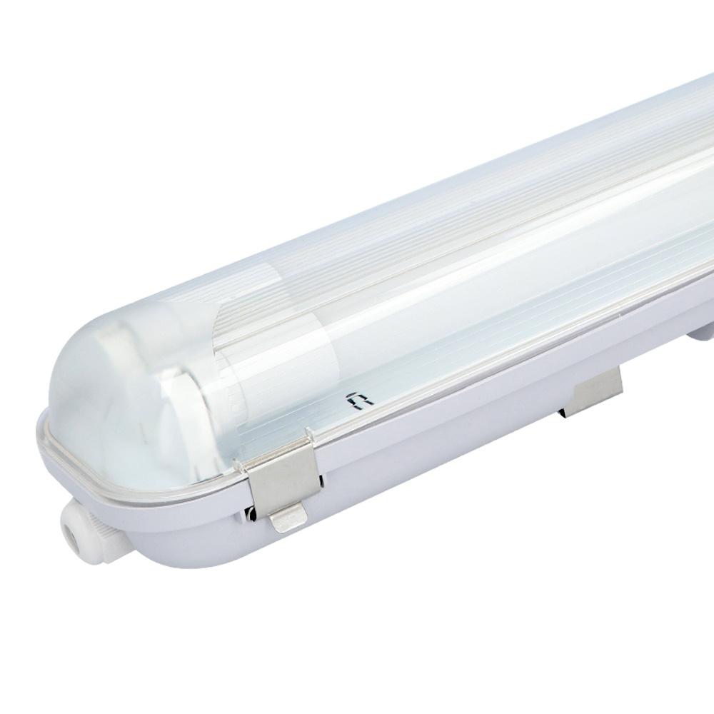 LED TL armatuur 150 cm IP65 incl. 2x24 Watt LED TL buizen 4000K