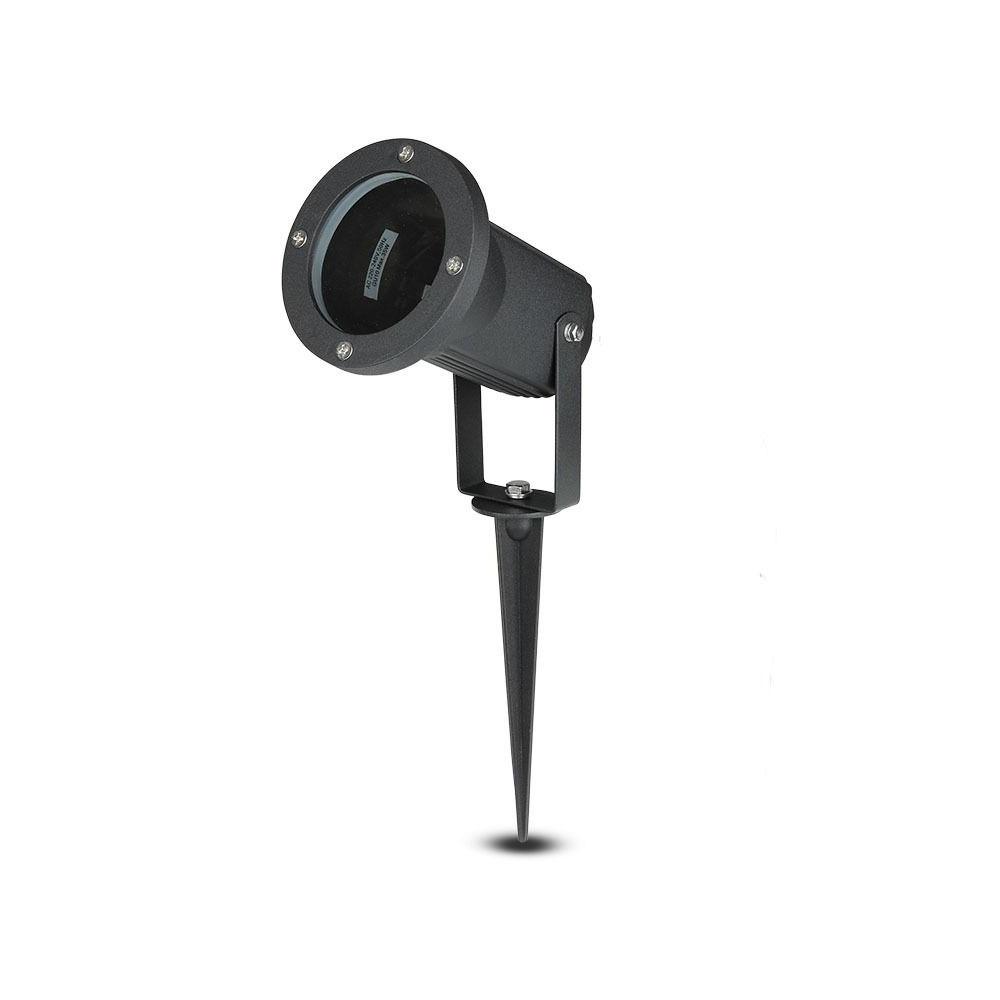 Prikspot aluminium zwart geschikt voor GU10 spots IP44 vochtbestendig 3 jaar garantie