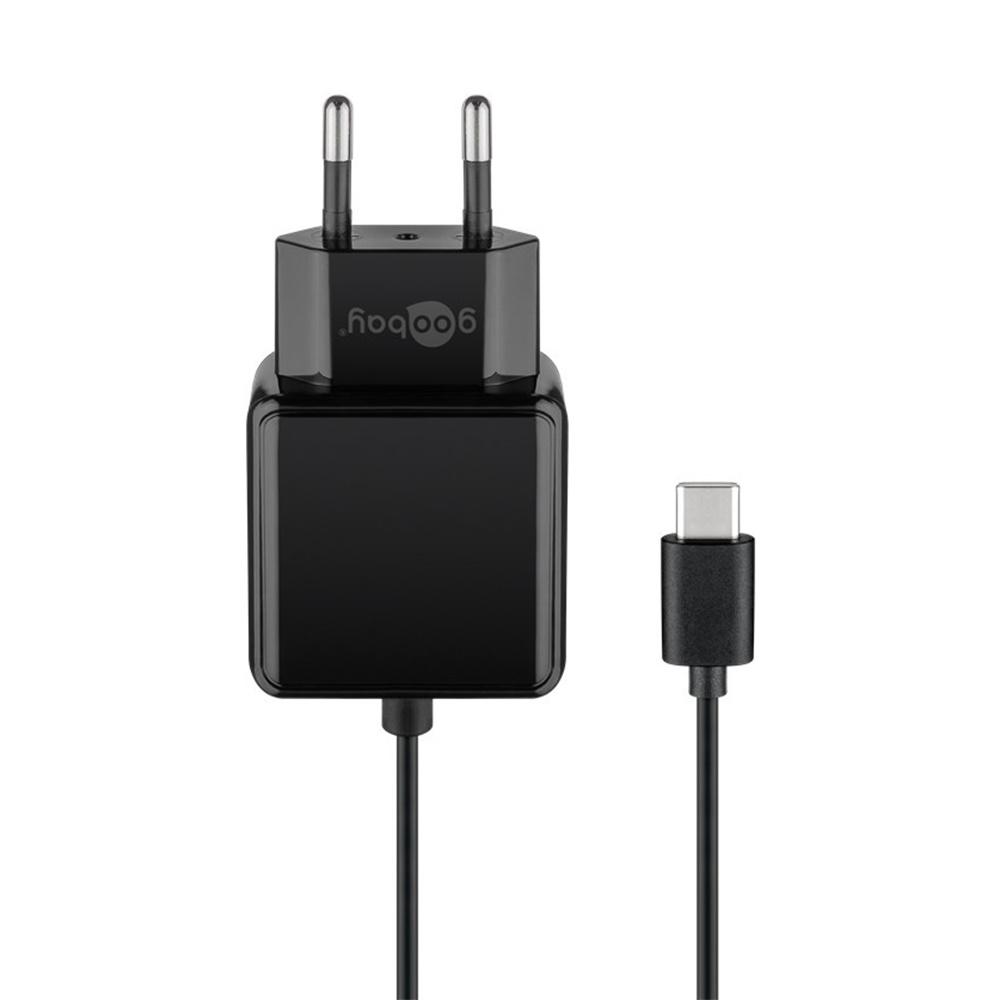 USB-C oplader compleet - USB-C netvoeding incl. 1.5m kabel - 15W - 3000mA - 5V