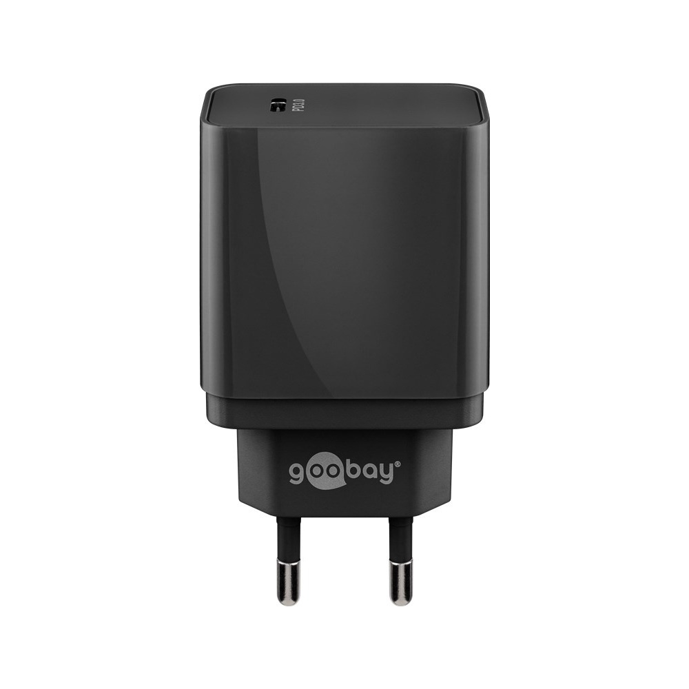 USB-C adapter - USB-C Oplader - Quick Charge - CEE 7/16 - USB-C adapter - 1 poorts - 18W - 3000mA -