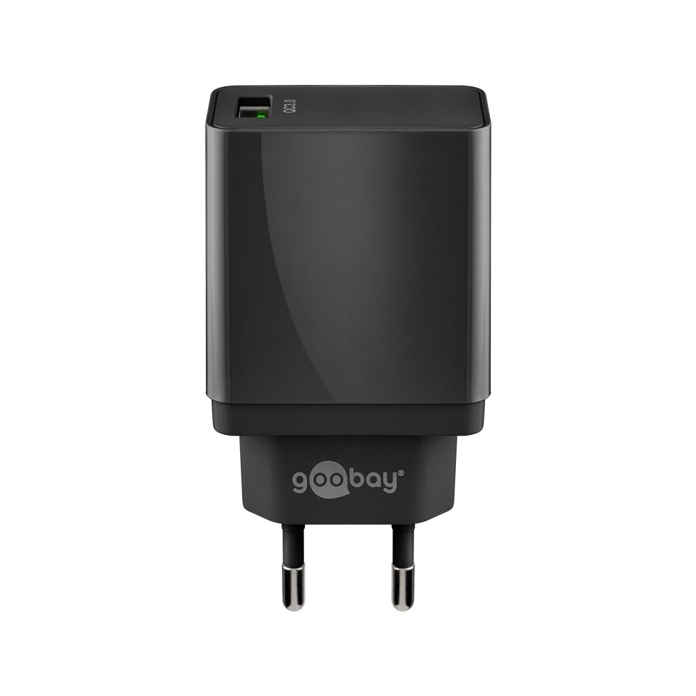 USB-A adapter - USB-A oplader - CEE 7/16 - USB-A adapter - 1 poorts - Quick Charge 3.0 - 3000mA - 18