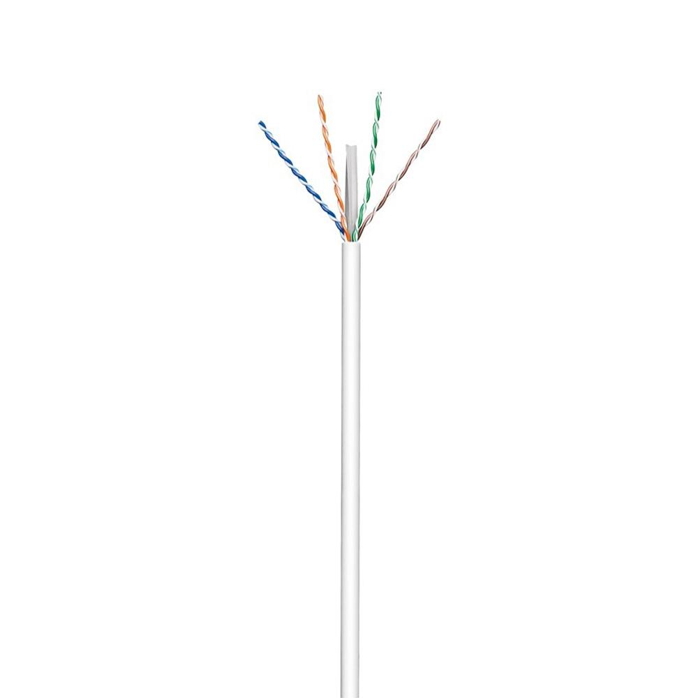 CAT 6 U/UTP kabel op rol - 305 meter - Patch - PIMF - CCA - CPR - UTP Kabel - Ethernet kabel - Inter