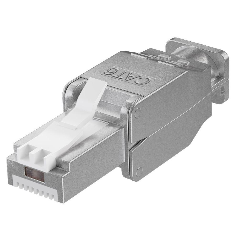 CAT6 RJ45 connector plug - STP - RJ45 - voor internetkabels - ethernet kabel - CAT kabel - gereedsch