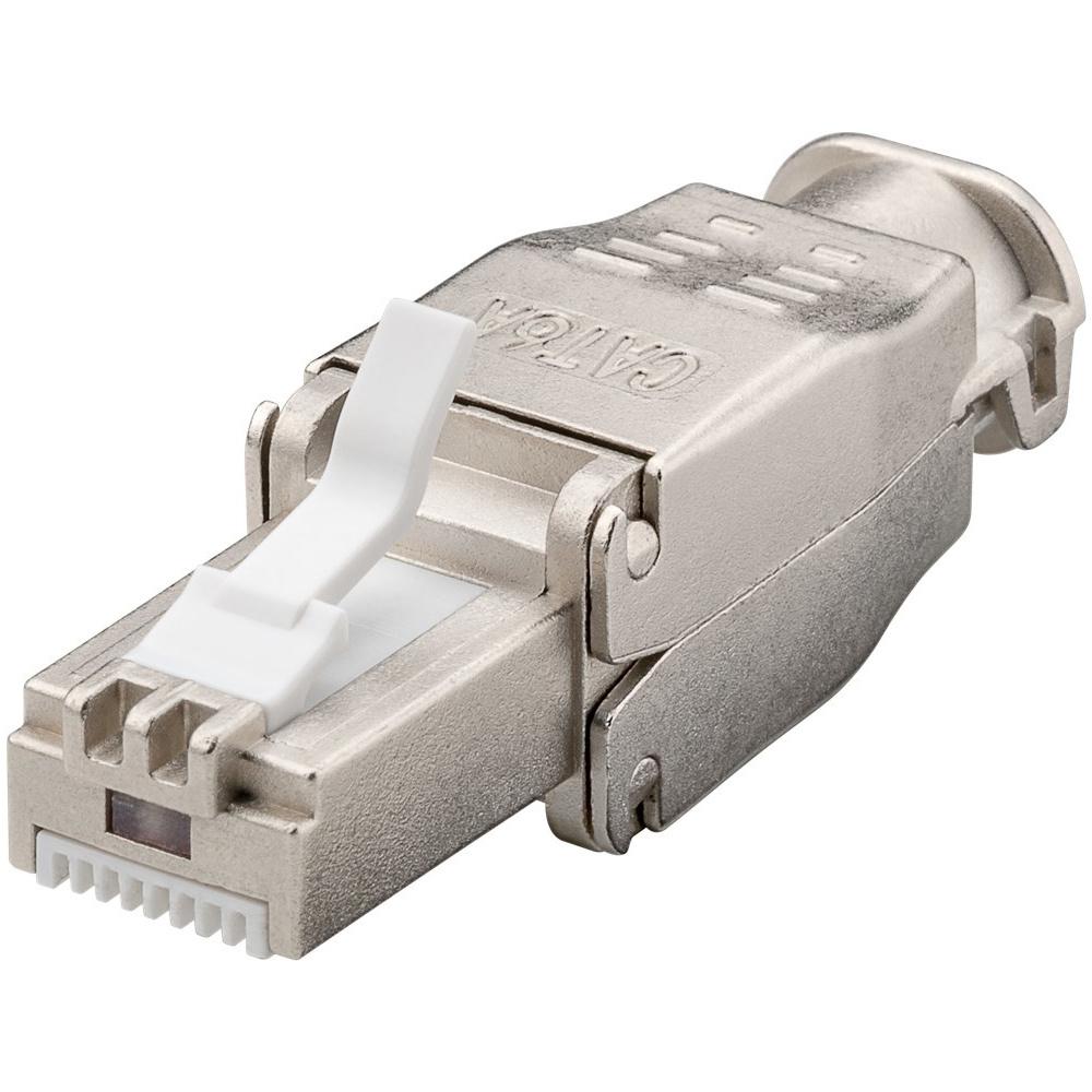 CAT6a RJ45 connector plug - STP - RJ45 - voor internetkabels - ethernet kabel - CAT kabel - gereedsc