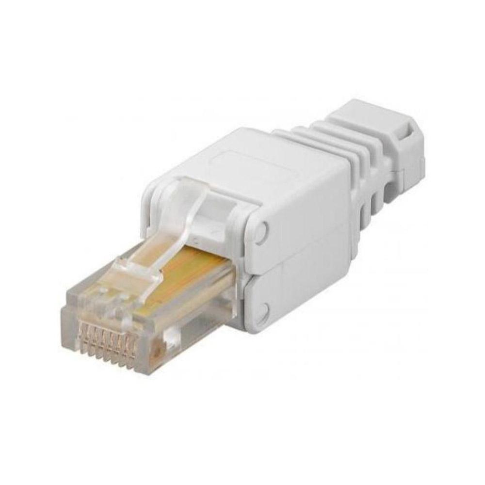 CAT5 RJ45 connector plug - CAT5e - RJ45 - voor internetkabels - ethernet kabel - CAT kabel - gereeds