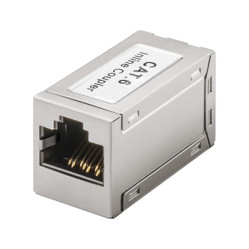 NET Modulair koppelstuk - CAT6 - LC - RJ45 - keystone - voor internetkabels - ethernet kabel - CAT k