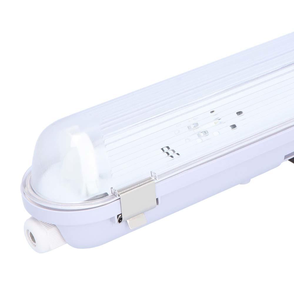 LED TL Armatuur IP65 150 cm RVS Clips Koppelbaar enkelvoudige uitvoering