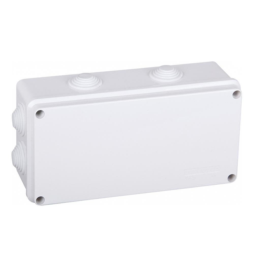 Lasdoos IP65 spatwaterdicht afmeting 200x100x70 mm (8 flexibele ingangen)
