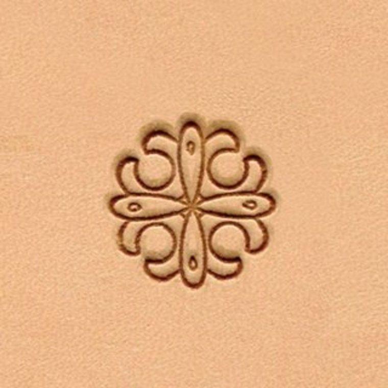 Ivan Leathercraft Floral figuurstempel