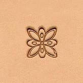 Ivan Leathercraft Floral figuurstempel 12,6 x 12,6 mm