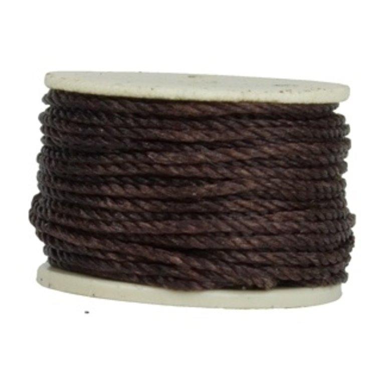 Losse spoel voor handnaaimachine, bruin