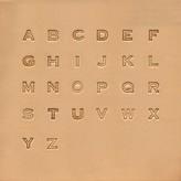 Alfabet set Block 13 mm 8143-00