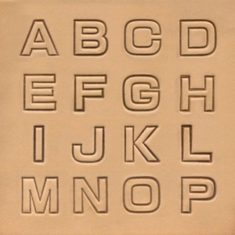 Alfabet set Bold 8141-00