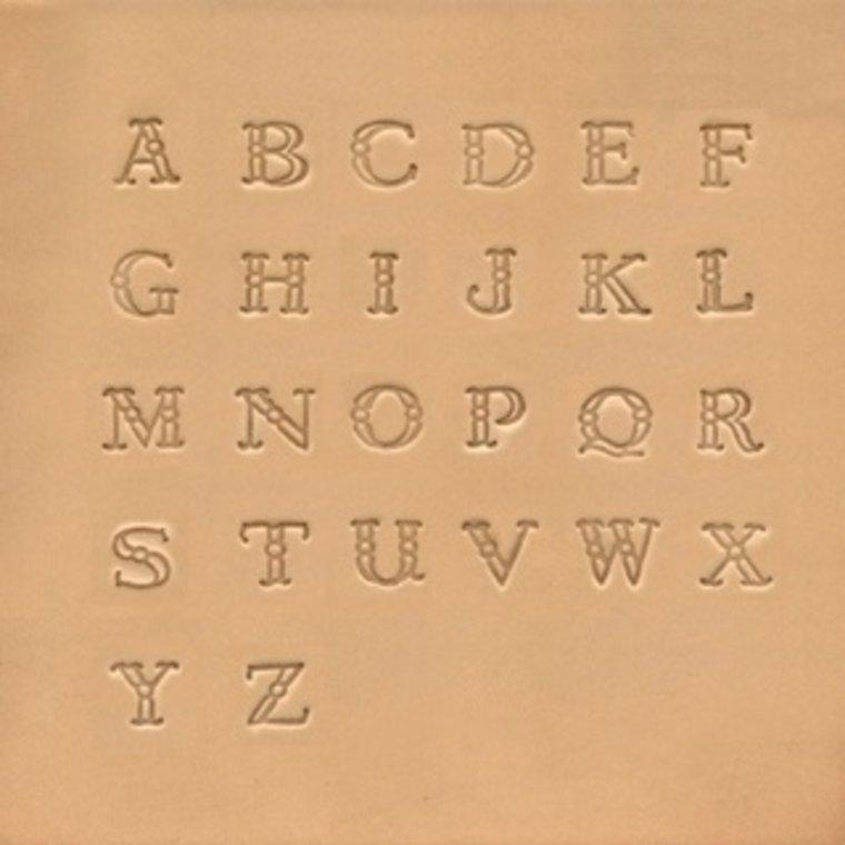 Alfabet set Fancy 9,5 mm