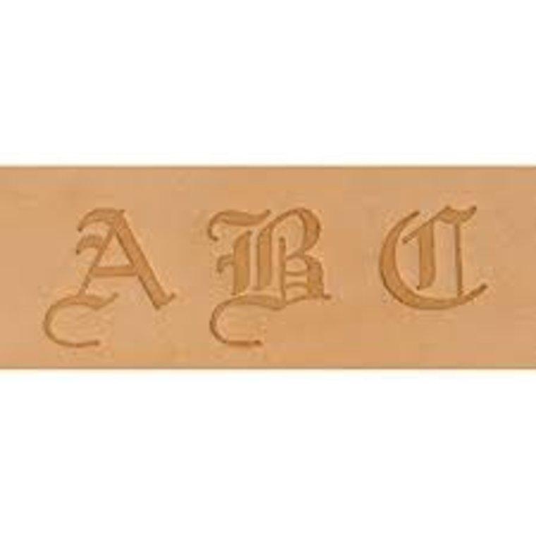 Alfabet set Old English 19 mm 8142-00