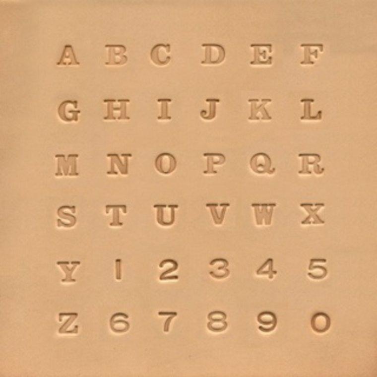 Ivan Leathercraft Alfabet & Nummer set 6,5 mm