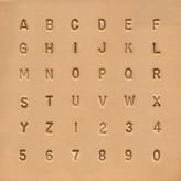 Alfabet & Nummer set 6,5 mm