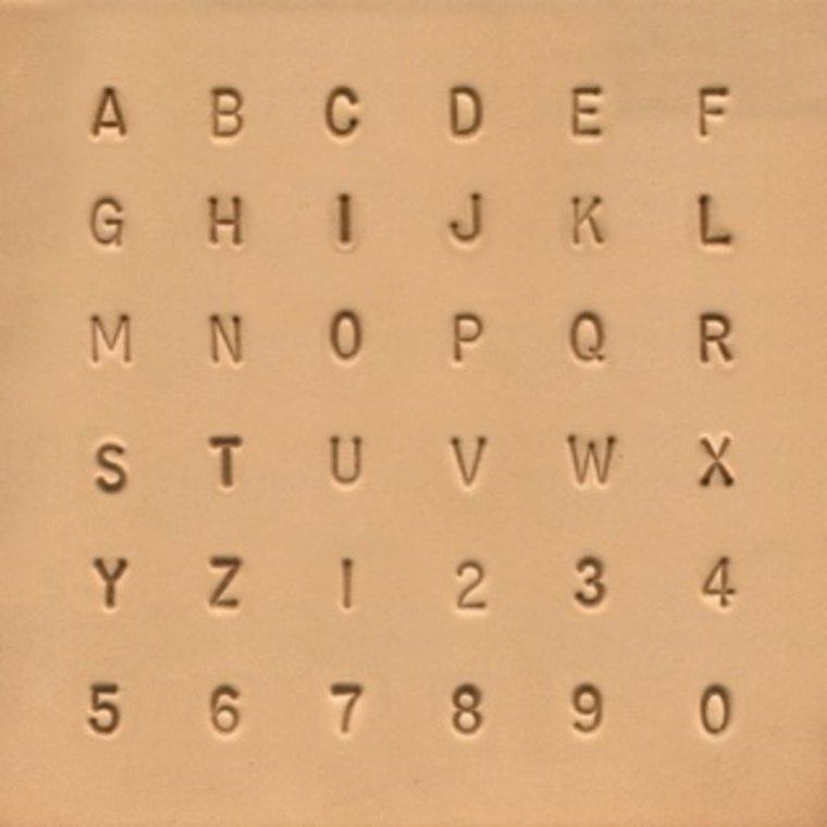 Alfabet & Nummer set 6,5 mm 8137-00