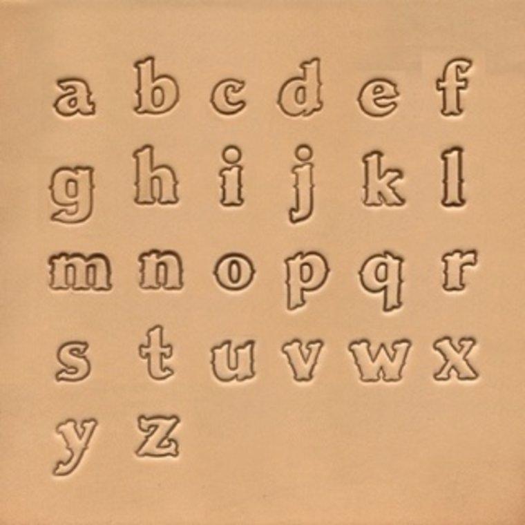 Alfabet set Lowercase 13 mm 8130-02