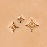 Ivan Leathercraft Stempelset Diamond Star