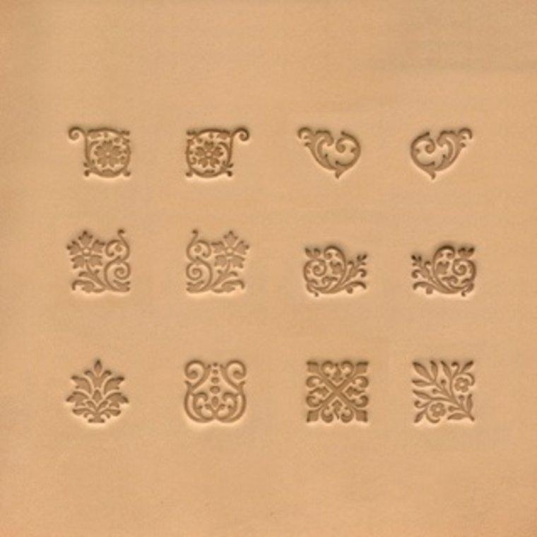 Ivan Leathercraft Stempelset Floral