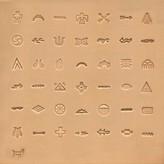 Ivan Leathercraft Stempelset Native American 6,5 mm