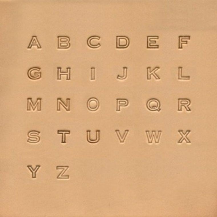 Alfabet set Block 6,5 mm 4909-00