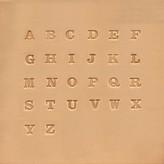 Ivan Leathercraft Alfabet set 6,5 mm