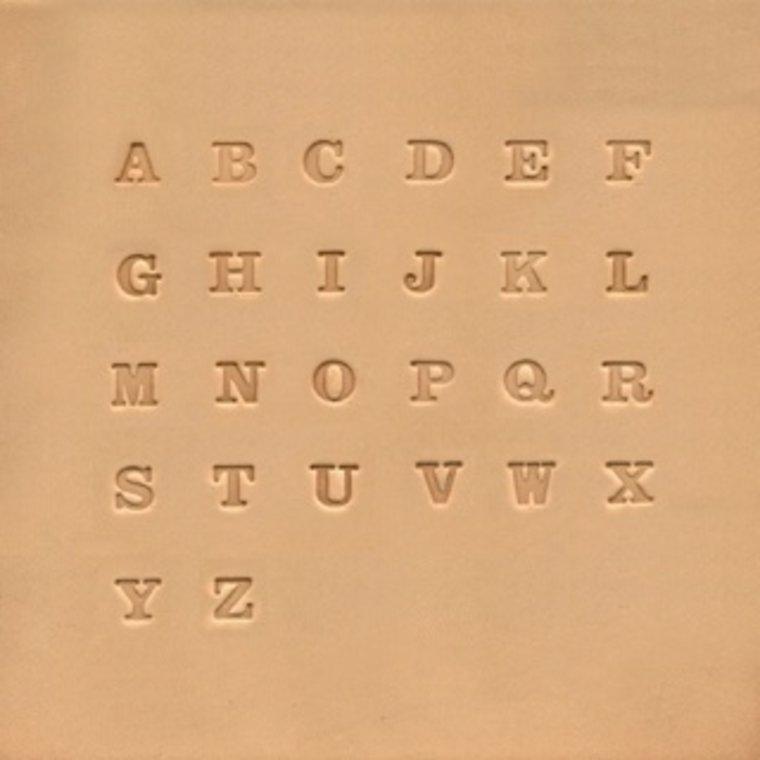 Alfabet set 6,5 mm