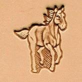 3D Rennend paard stempel 88311-00