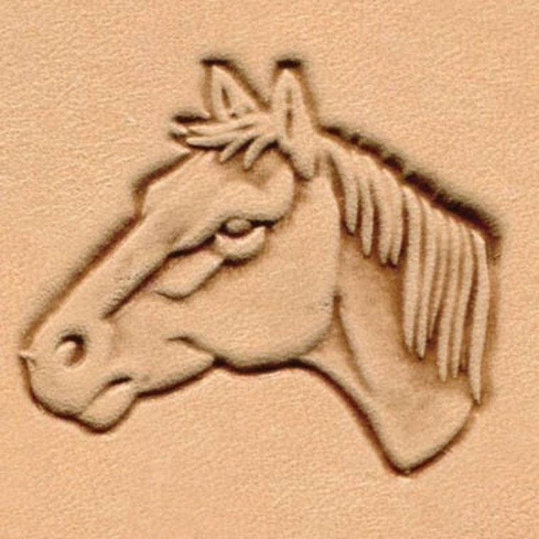 Ivan Leathercraft 3D Paardenhoofd links 88364-00