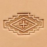 Ivan Leathercraft 3D Vlag met kruis stempel