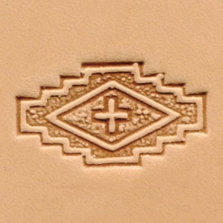 3D Vlag met kruis stempel 88489-00