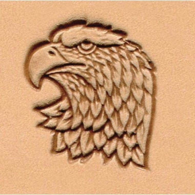 Ivan Leathercraft 3D Adelaar links stempel 88361-00